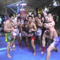 Photo fin d'entraînement (BANGKOK)
