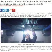 Automobile : Les métiers du contrôle technique et des services automobiles poursuivent les recrutements