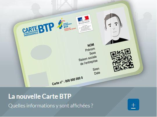 Capture carte btp