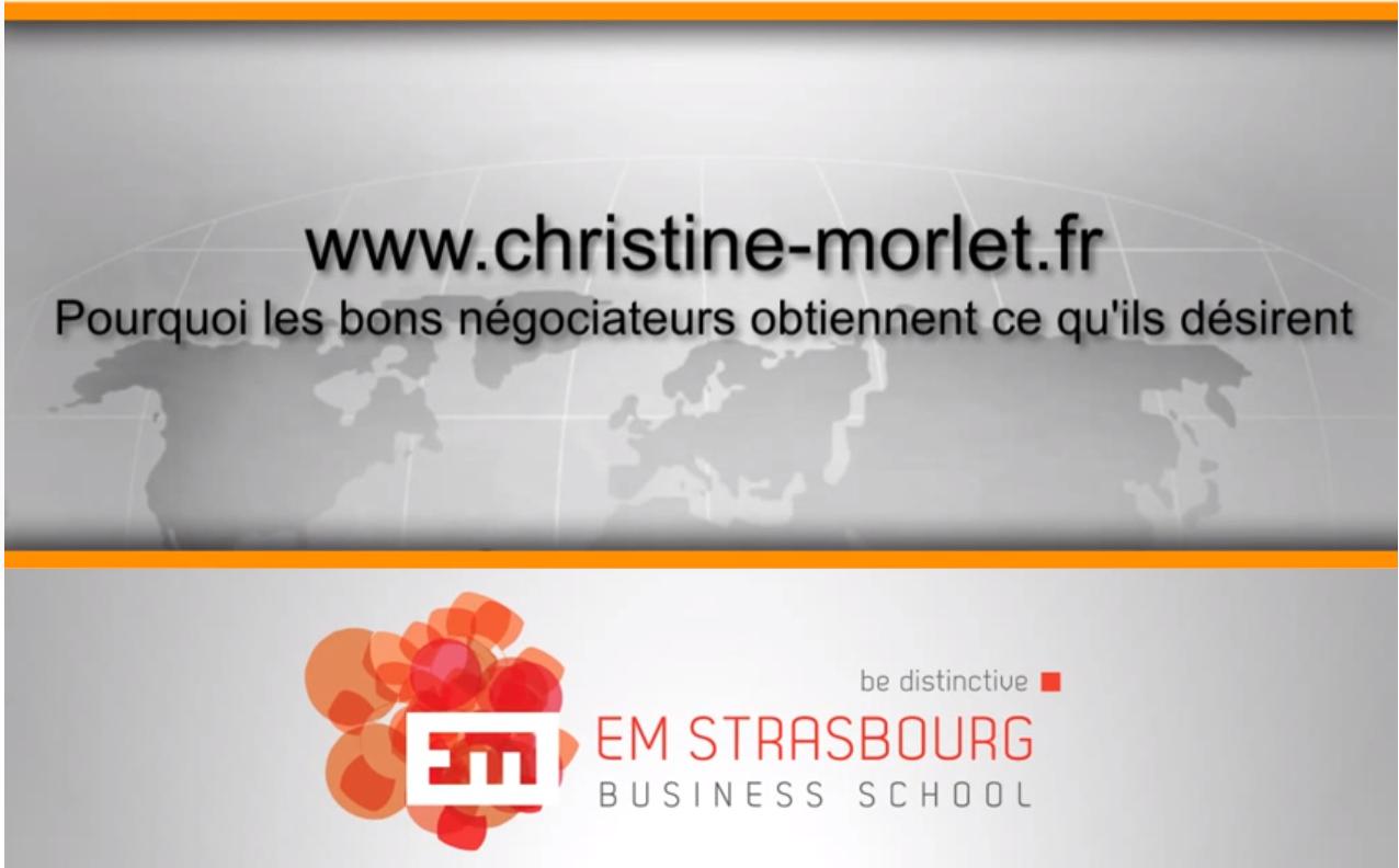 Christine Morlet, Pourquoi les bons négociateurs obtiennent ce qu'ils désirent ?