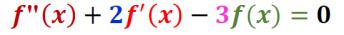 Équation différentielle du Second Ordre