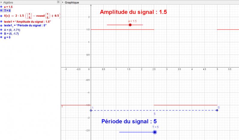 Capture signal rectangle