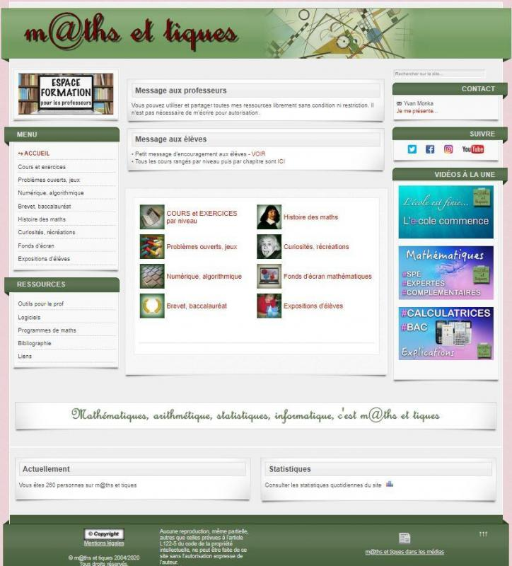 Capture site web yvan