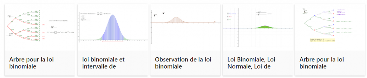 Loi binomiale geogebra