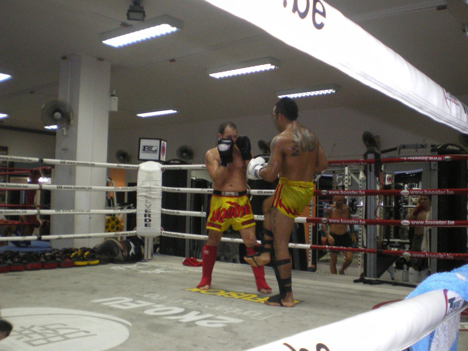 Sparring-partner pour mon ami, Thaï-cambodgien, statut