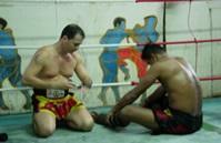 Mon sparring-partner: Préparation combat (BANGKOK)